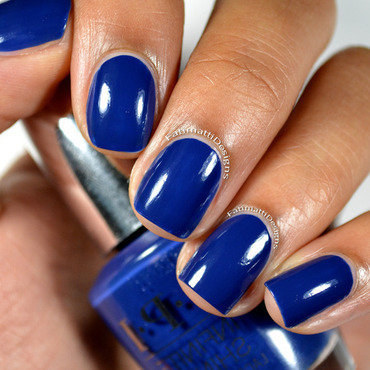 OPI Infinite Shine Get Ryd-of-thym Blues Swatch by Fatimah