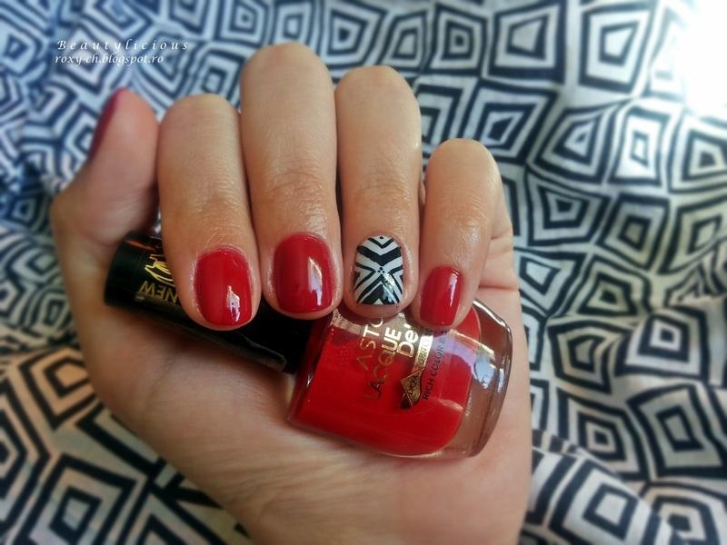 Bad nail day nail art by Roxy Ch