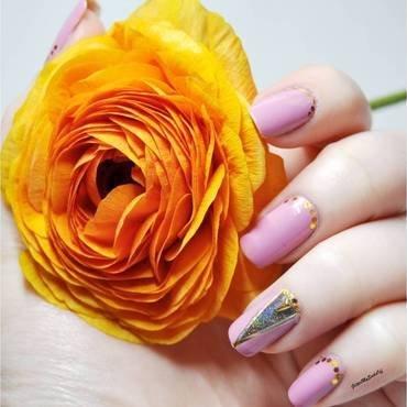 HoloRose nail art by GlitterMySocksOff