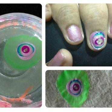 evil eye protection nail art by nail nakshi