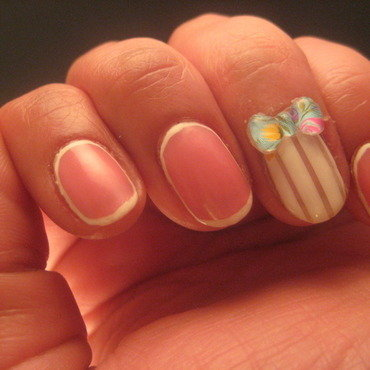 girly girl nail art by Nell_Q