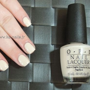 O.P.I. NL E82 MY VAMPIRE IS BUFF Swatch by Ka'Nails