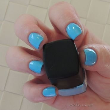 LM Cosmetic 141 Blue Bay Swatch by Ka'Nails