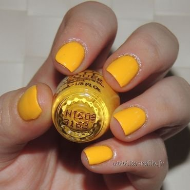 O.P.I. NI G09 Yellopalooza Swatch by Ka'Nails