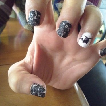 chinook  nail art by Jerel Dalrymple