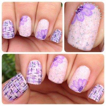 Tweed we meet Again nail art by RaptorNails