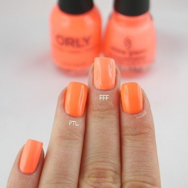China Glaze Flip flop fantasy and Orly Push The Limit Swatch by Ann-Kristin