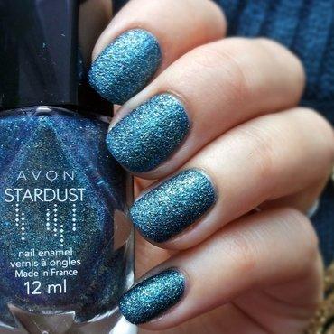 Avon Stardust Teal Glitter Swatch by Roxy Ch