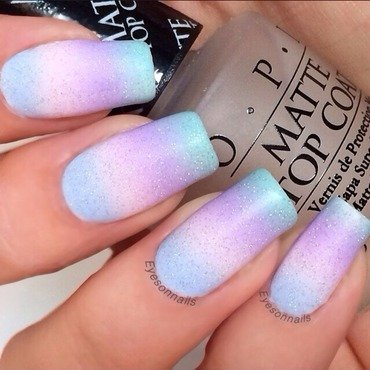 Pastel gradient & Fairydust ✨ nail art by Virginia