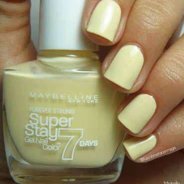 Maybelline Lookout Lemon Swatch by Michelle Mullett