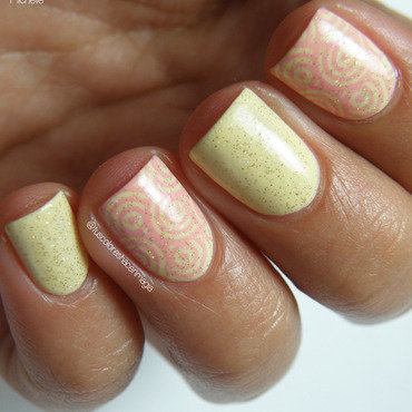 So pastel nail art by Michelle Mullett