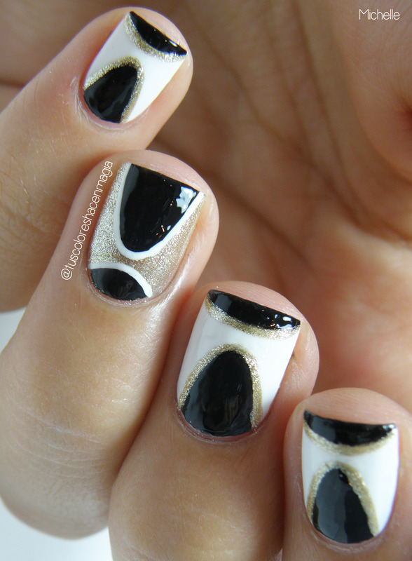 Parable nails nail art by Michelle Mullett