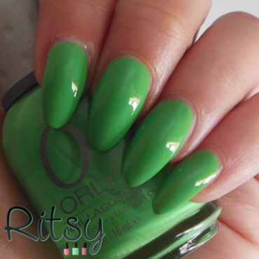 Orly Mint Mojito Swatch by Ritsy NL