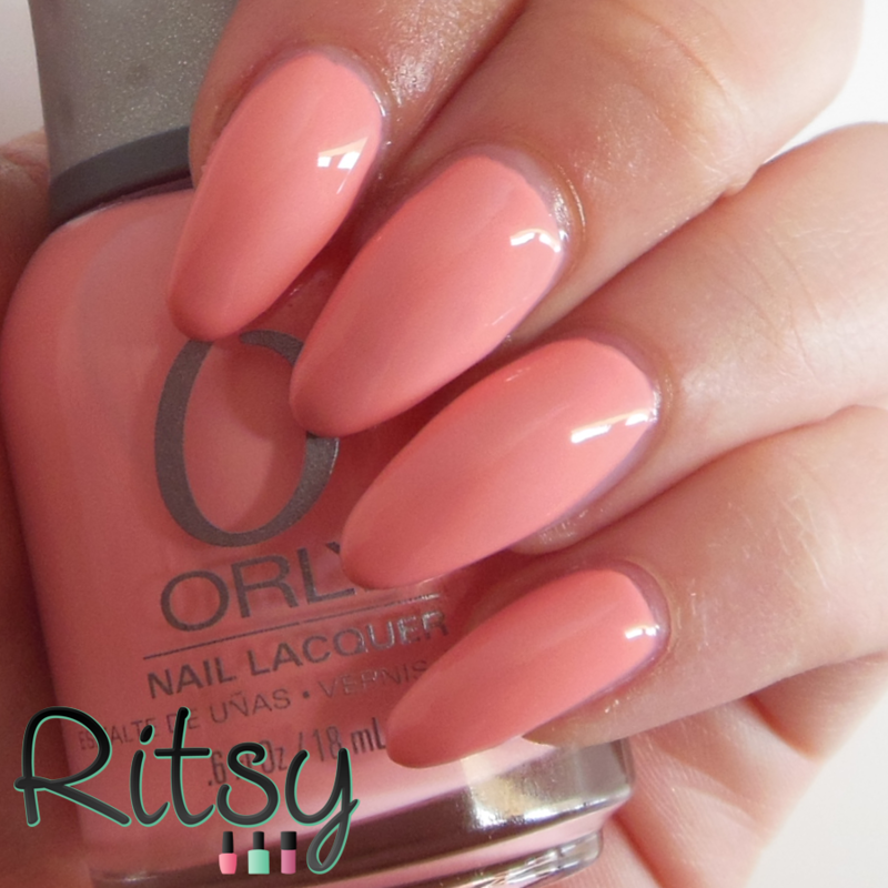 Cotton Candy Satin Fingernail Polish: Orly Cotton Candy Swatch By Ritsy NL