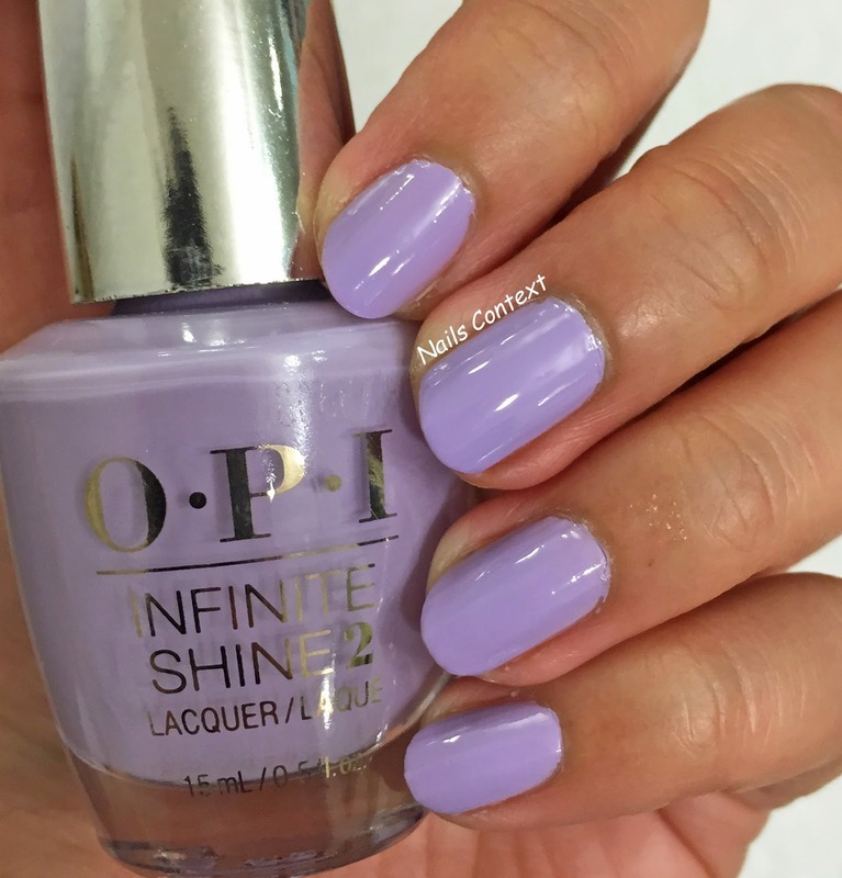 OPI Infinite Shine In pursuit of purple Swatch by NailsContext