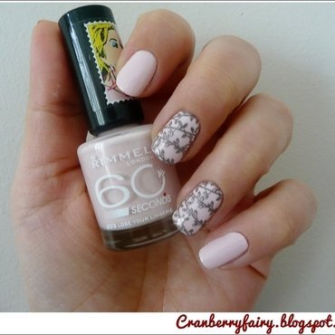Wedding inspiration nail art by Cranberry Fairy