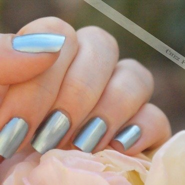 GOSH Metallic Blue Swatch by Francine