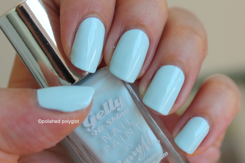 Barry M Huckleberry Swatch by Polished Polyglot