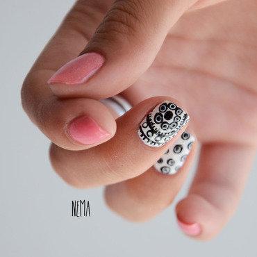 Dot nail art by nehmaah