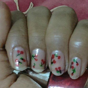 just cherries nail art by nail nakshi