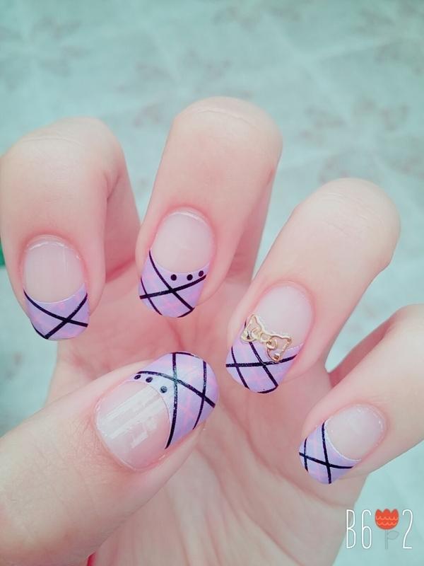 Nice nail art by Monica - Nailpolis: Museum of Nail Art