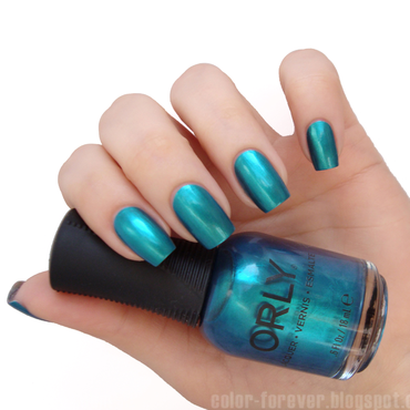 Orly It's Up To Blue Swatch by ania