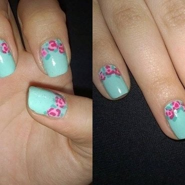 Spring is here! nail art by Natalia D.