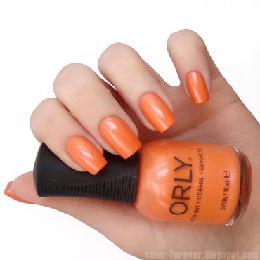 Orly Life's A Peach Swatch by ania