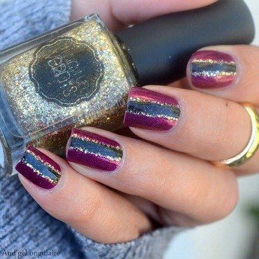 I Love Nail Polish, Ozotic & Il était un vernis  nail art by And'gel ongulaire