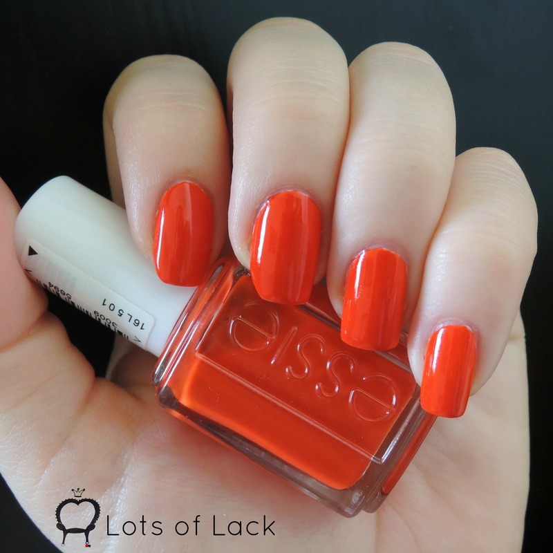 Essie Meet me at Sunset Swatch by LotsOfLack
