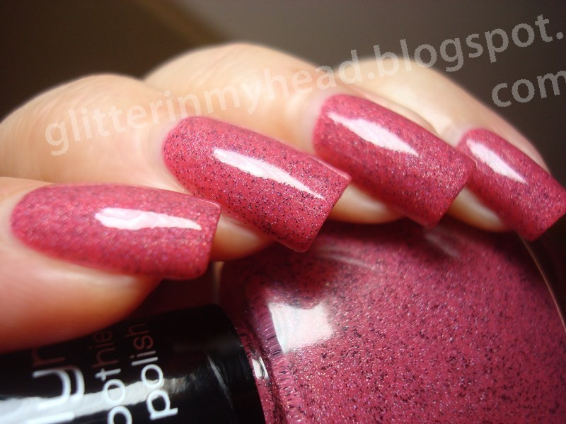 Misslyn Forbidden Fruits Yummy Cherry Swatch by The Wonderful Pinkness