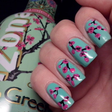 Arizona nails nail art by Alice in Wonderland CZ