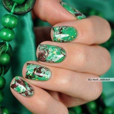#100 nail art by Juli