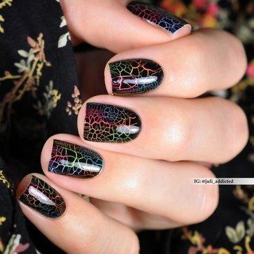 #101 nail art by Juli