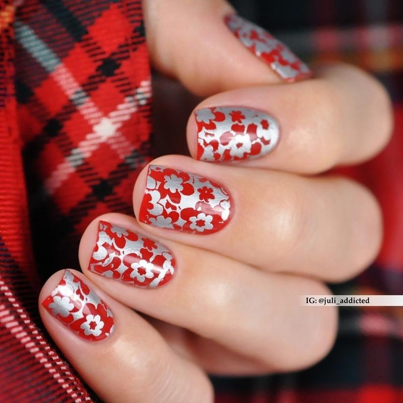 #103 nail art by Juli