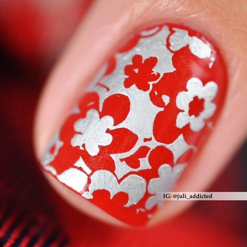 #103-2 nail art by Juli