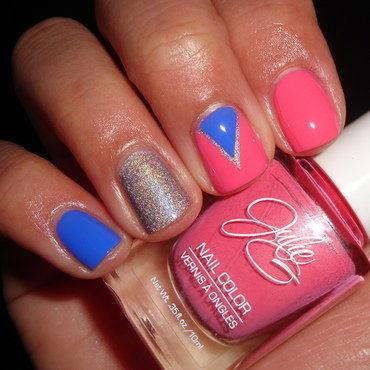 Bohemian inspired nail art nail art by Jessica