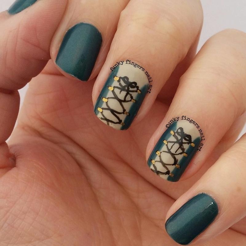 Robin Hood Nails Nail Art By Funky Fingers Nail Art Nailpolis
