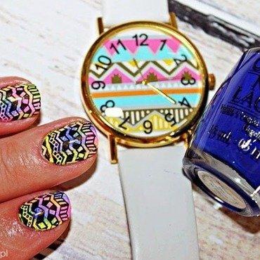 OPI...Eurso Euro nail art by Amethyst
