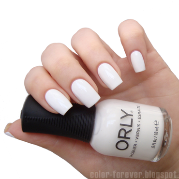 Orly White Out Swatch by ania