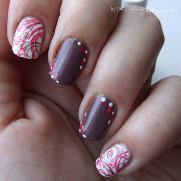 Double stamped 2.0 nail art by Barbara P.