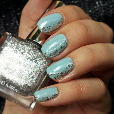 Ice queen nail art by Roxy Ch