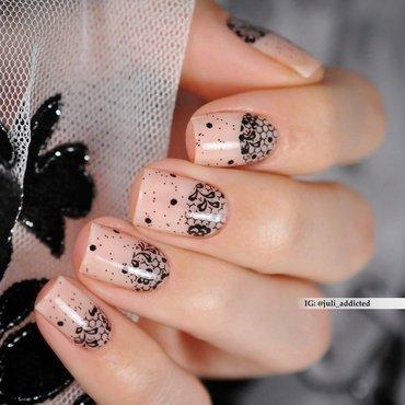 #104 nail art by Juli