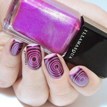 Bullseye! nail art by Marine Loves Polish