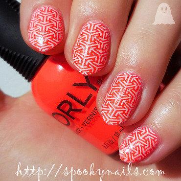Ablaze nail art by sabbatha