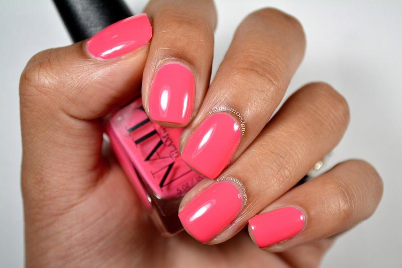 Nail Glam by Jovee Co Kinky Pinky Swatch by Fatimah