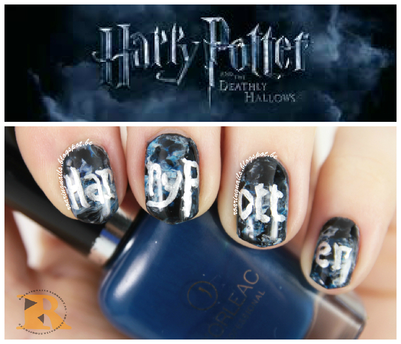 The Nerd-Geek Challenge prompt 2: Favourite Movie nail art by Robin