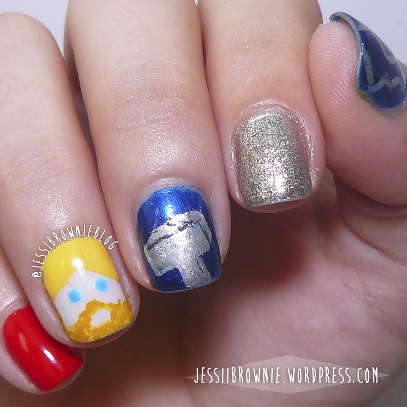 Thor Nail Art nail art by Jessi Brownie (Jessi)