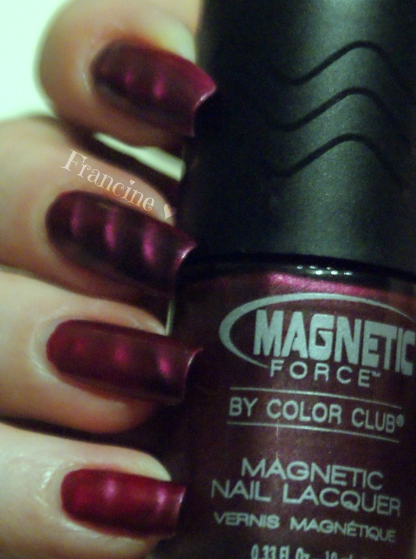 Magnetic Force by Color Club Hipnotic Swatch by Francine - Nailpolis ...