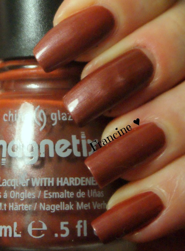 China Glaze Magnetix II Bond-Tastic Swatch by Francine - Nailpolis ...